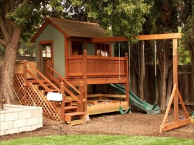 Functional Playground with a house