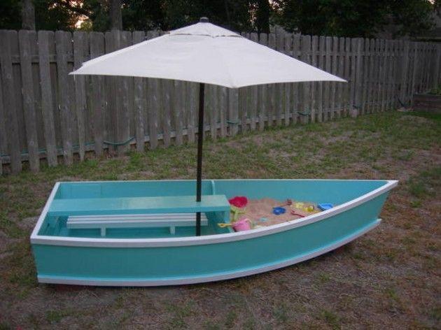 сделать детскую лодку