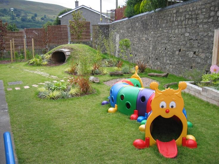 Детская площадка своими руками в садике