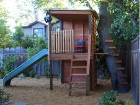 A small Playground in the yard