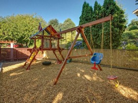 Children's Playground with swings