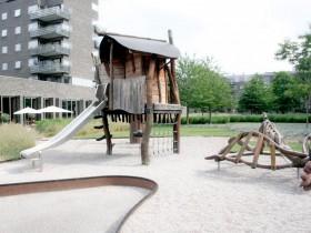 Playground wood