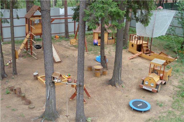 Самоделки своими руками детские площадки