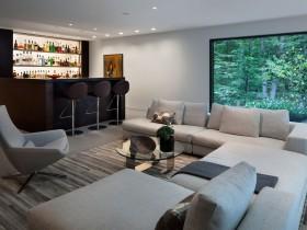 Дизайн совмещенной гостиной