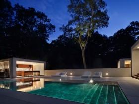 Дизайн открытого бассейна