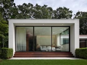 Загородный дом в стиле кубизм