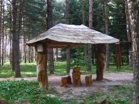 Лісовий стиль альтанки