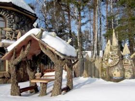 Forest style gazebo