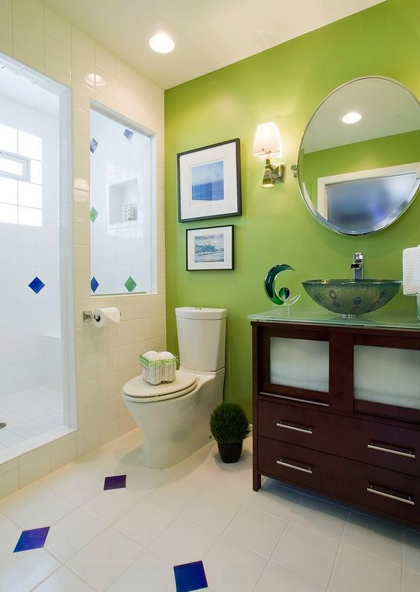 Дизайн стен а ванной
