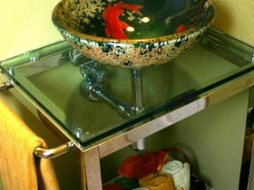 Sink design in Chinese style