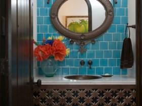 Sink in Oriental style