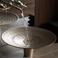 Stylish sink, metal