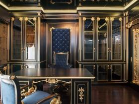 Идея дизайна темного личного кабинета