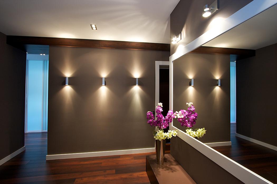 Дизайн люстр для коридора