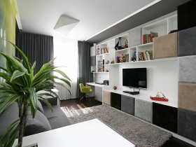 Modern room for teen