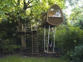 Children's tree house