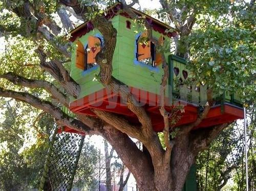 Домики на дереве своими руками фото