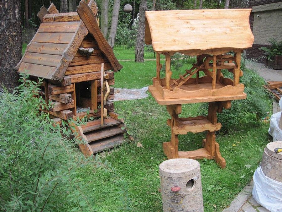 Домик для белки в парк своими руками 9