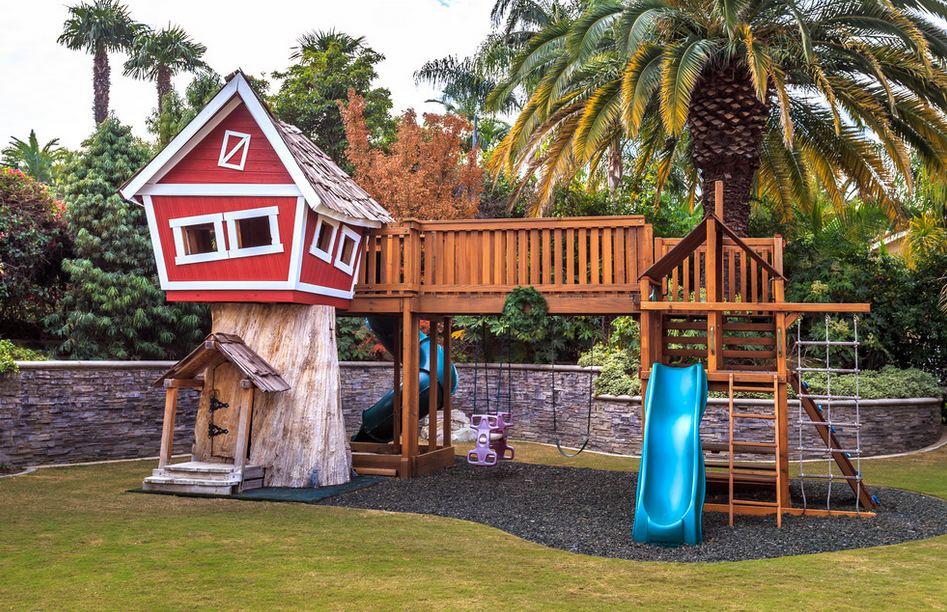 Как сделать дом на дереве своими руками для детей во дворе 43