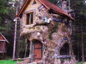 Дизайнерский домик на дереве