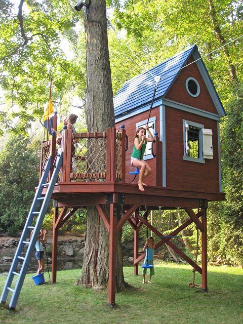 Как сделать мне ребенку дом на дереве 276