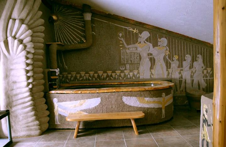 Шторы в египетском стиле фото
