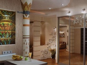 Apartment in the Egyptian style