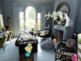 Cottage in eclectic style