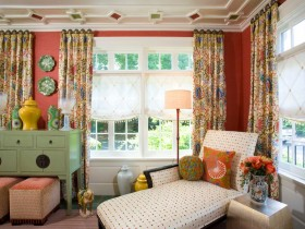 Interior eclectic style