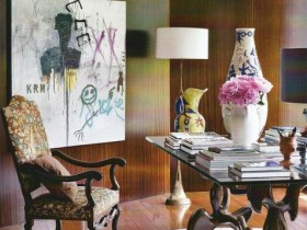 Room eclectic style