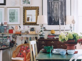 Eclecticism in interior design