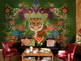 Stylish wall painting