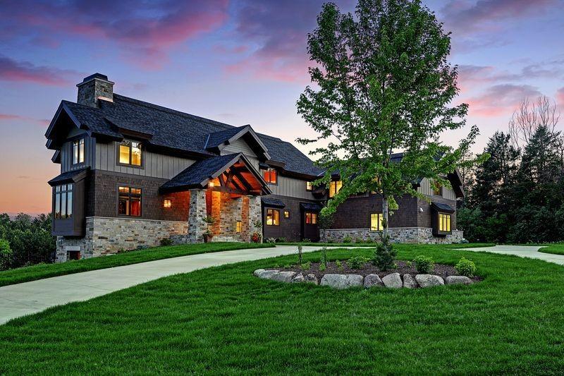 Фото дизайн фасадов загородных домов