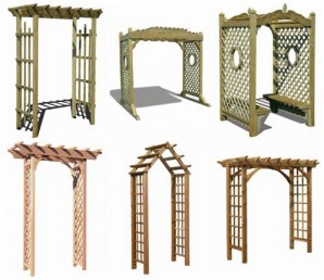 Decorate a pergola with your own hands: pictures of wooden pergolas, used in landscape design