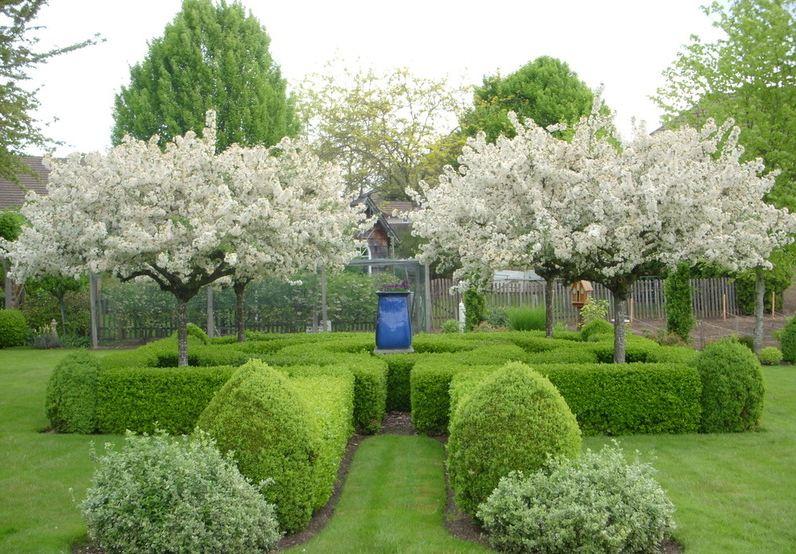 Садовый дизайн во французском стиле