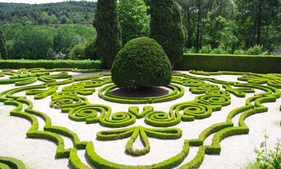 Регулярный садовый стиль нашего времени