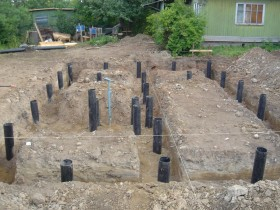 Construction of pile Foundation