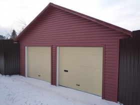 Permanent garage for the car