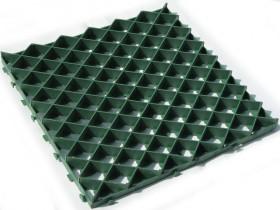 Module plastic grass paver