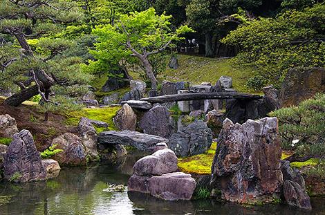 На фото представлены ландшафтные сады