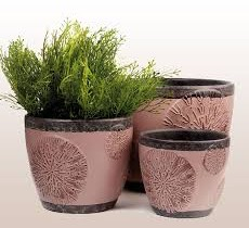 Example decoration flower pot