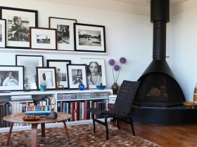 Creative fireplace design