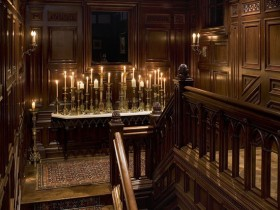 Gothic style staircase design