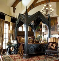 Real Gothic bed