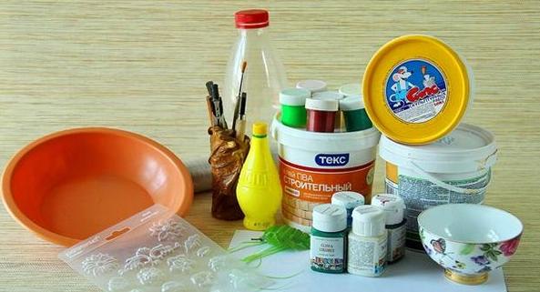 Материалы и инструменты для создания фигурки