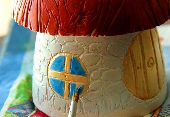 Раскраска садового гриба