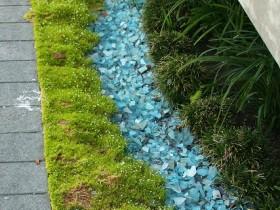 Идея сухого ручья в саду