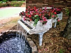 Идея создания фонтана в саду
