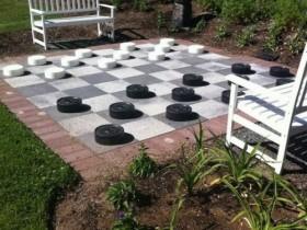 Идея оформления сада для шахматиста