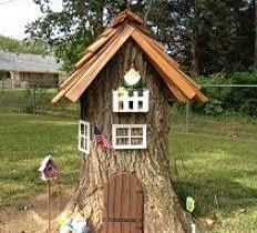 Оформление ствола дерева